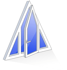 triangular-window